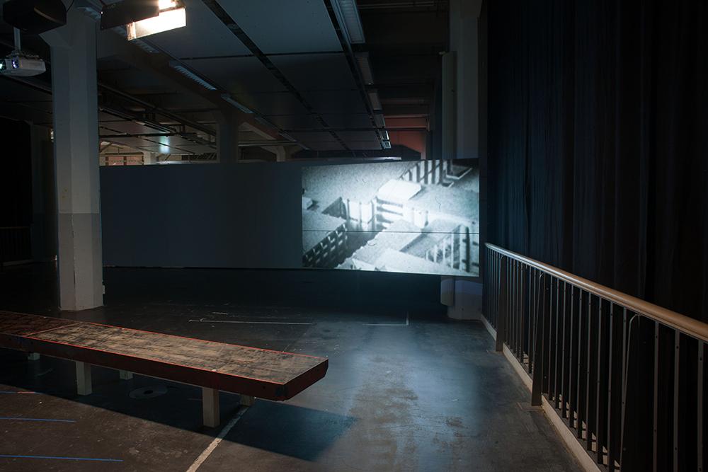 Carlo Siegfried exhibition / stage